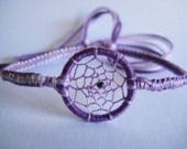 Dreamcatcher Soft Lavender Charm Friendship Bracelet - DarlingWarrior