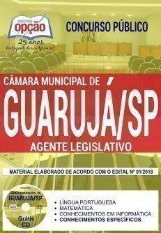 Apostila Concurso Câmara de Guarujá 2018 | AGENTE LEGISLATIVO