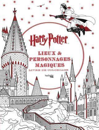 lieux  personnages magiques livre coloriage livre de