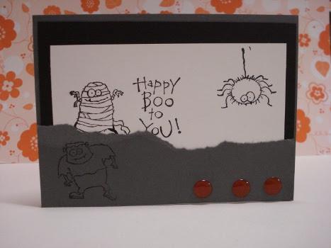 Ethan's Halloween card
