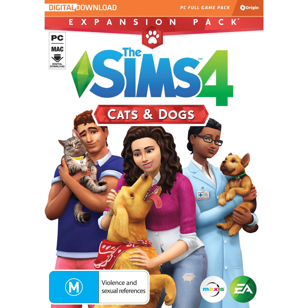 The Sims 4 Cats Dogs Expansion Pack Jb Hi Fi