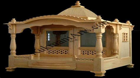 wooden temple designs  home small temple  home