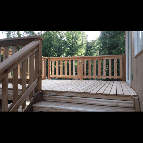 Front and Back Deck Repair - Design Scales