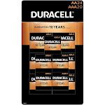 Duracell Coppertop AA Alkaline Batteries (24 count)/AAA