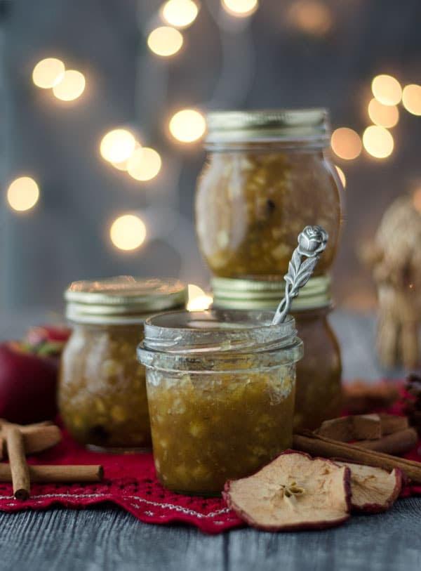 Bratapfelmarmelade, herrlich weihnachtllich und gar nicht kompliziert zu machen!