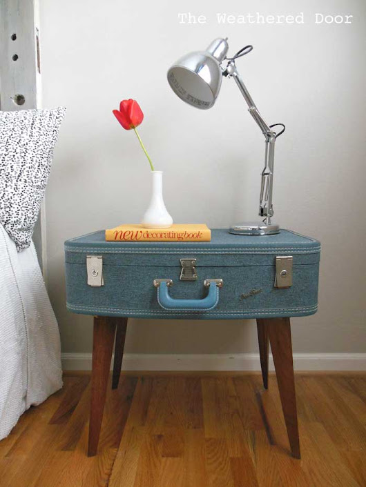 Creative Nightstands For Awkward Spaces - Rustic Crafts & Chic Decor
