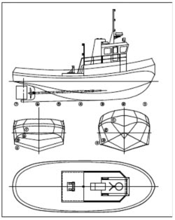 Guide printable model boat plans boat plan for Printable blueprints