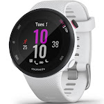 "Garmin Forerunner 45S Running GPS /Galileo Watch - 1.04"" Display - White"