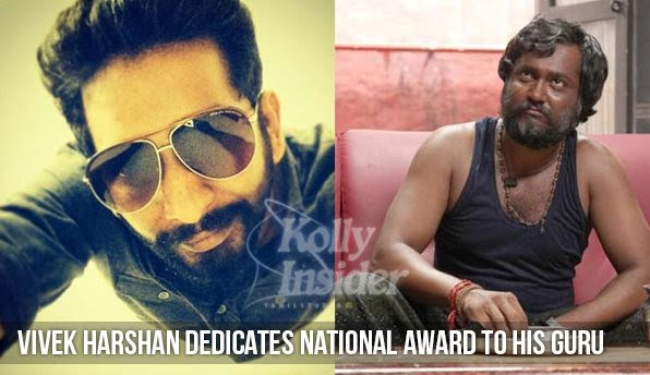 Vivek Harshan dedicated his National Award to guru Anthony