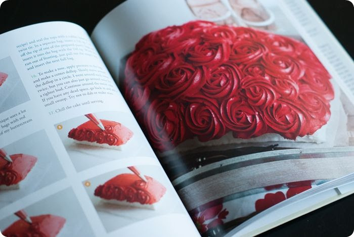 rose cake from Surprise-Inside Cakes: book review & giveaway