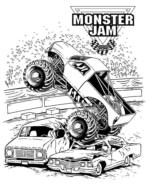 Monster Jam Scooby Doo Monster Truck Coloring Pages ...