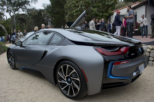 Pebble Beach 2014 of the El BMW i8 Concours d'Elegance Edition ~ News Update and Cars Review
