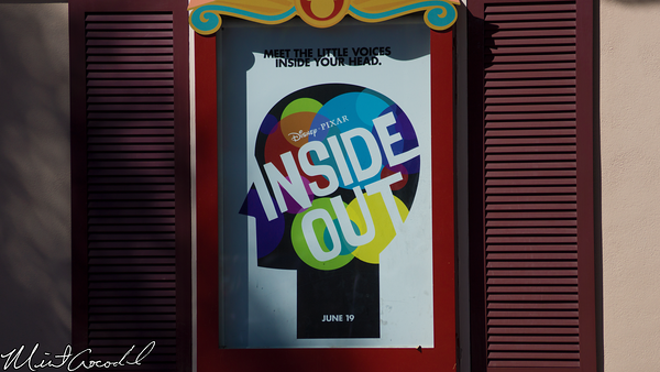 Disneyland Resort, Inside, Out, Poster, Pixar, Disney