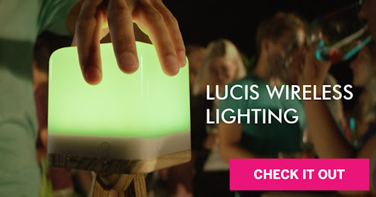 Lucis Lighting: A Portable, Colorful LED Lamp