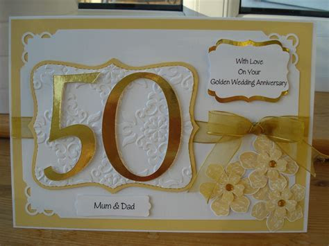 Shari Anne Happy Crafter: 50th Wedding Anniversary Commission