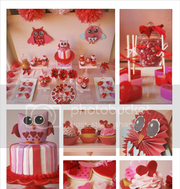 Amanda 39 s parties to go valentines owl always love you party for Mini tin mailboxes for crafts