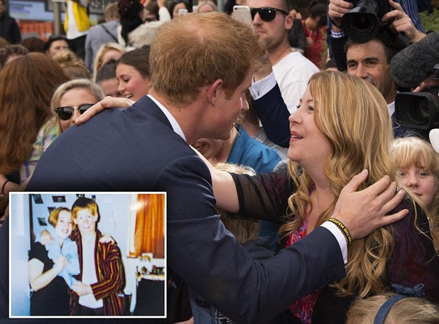 Prince Harry reunited in New Zealand with school teacher