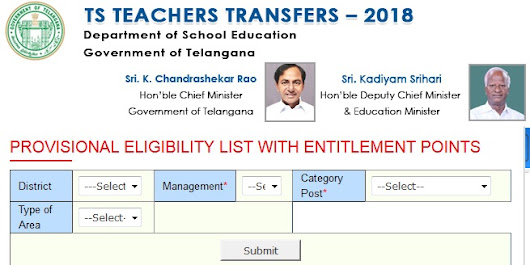 Telangana TS Teachers Transfers Seniority List Vacancy Position Download - Teachers Badi - TSBADI