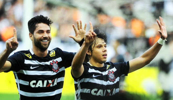 Corinthians x São Paulo romero  (Foto: Marcos Ribolli)