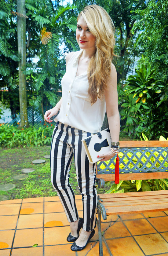 Striped Jeans trend