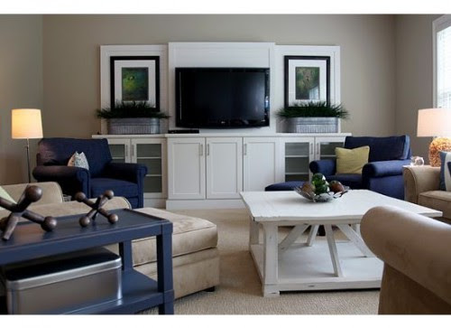 Dwellings eclectic family room