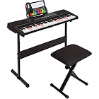 Best Choice Products Teaching Electronic 61-Key Keyboard Piano Set