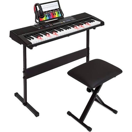 Best Choice Products Teaching Electronic 61-Key Keyboard Piano Set