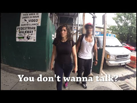Ten hours of walking in NYC as a woman