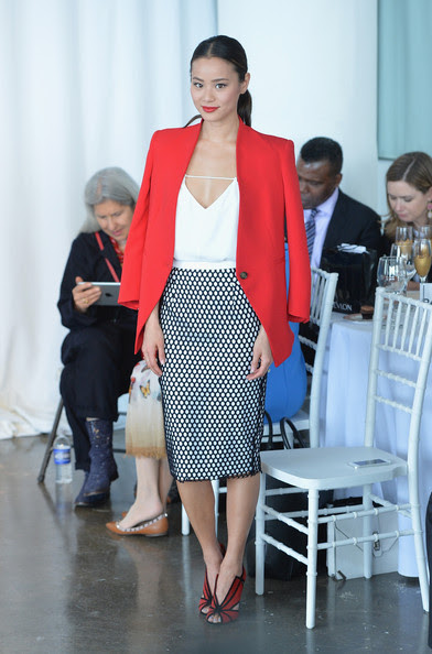 Sharp Pencil Skirt