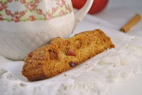 Apple Strudel Biscotti