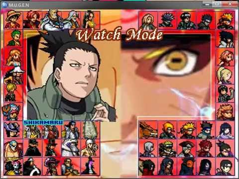 Mugen one ninja world naruto strongest new piece vs download