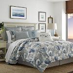 Tommy Bahama 221193 Raw Coast Comforter Set King Blue