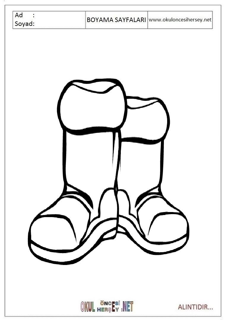 Bot Boyama Sayfaları