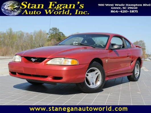 Used 1998 Ford Mustang for Sale in Greer SC 29650 Stan Egan's Auto World