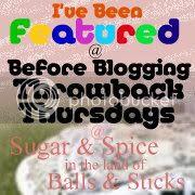 Sugar & Spice in the land of Balls & Sticks