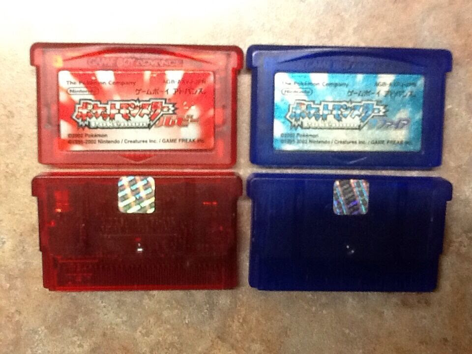 Pokemon Ruby amp; Sapphire Pocket Monsters New Batteries In