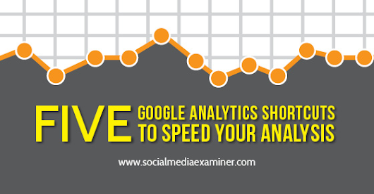 Five Google Analytics Shortcuts to Speed Your Analysis