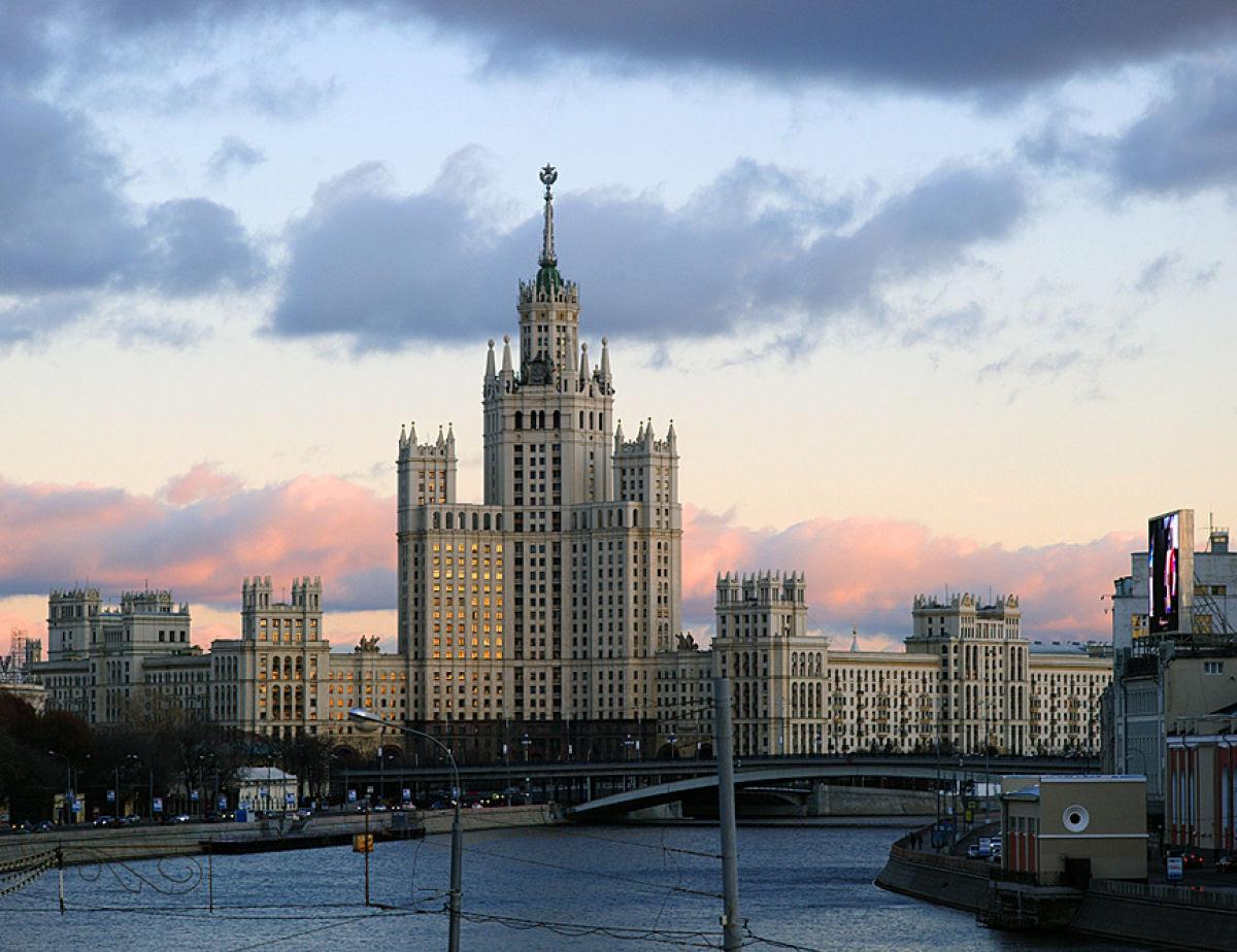 As 7 irmãs - Os sete arranha-céus de Stalin