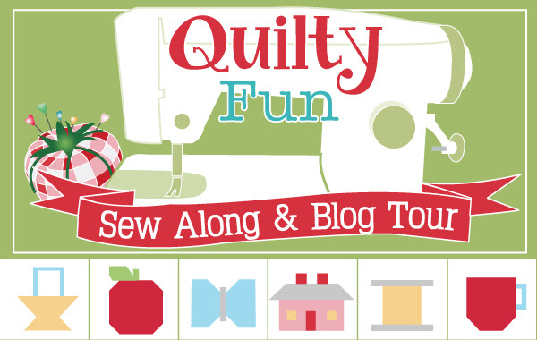 Quilty Fun Sew Along and Blog Tour