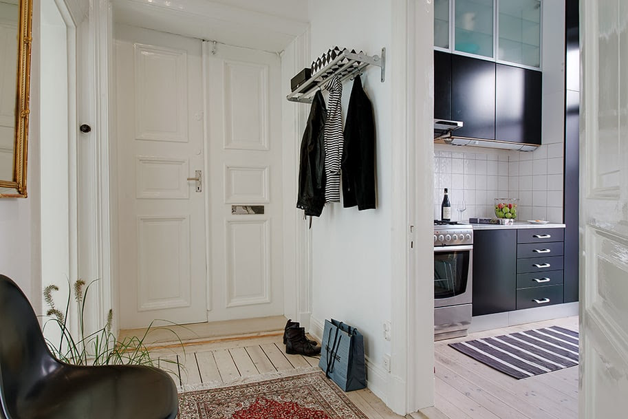 Interior Narrow Apartment