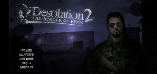 Desolation 2 - The Bunker of Fear - CrazyScaryGames