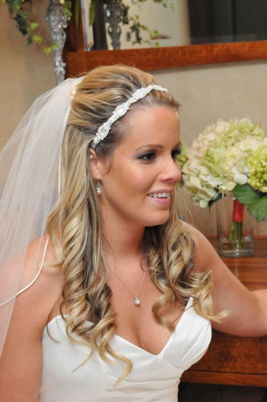 35 Half Up Half Down Wedding Hairstyles For Long Hair ...