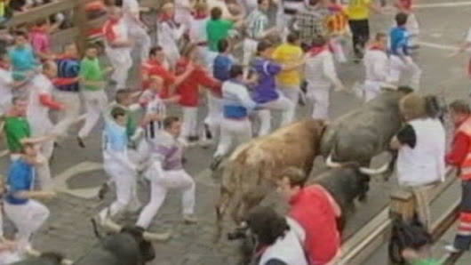 Pamplona's Running of the Bulls Comes to America
