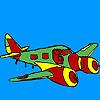 Jet Uçak Boyama Oyunu