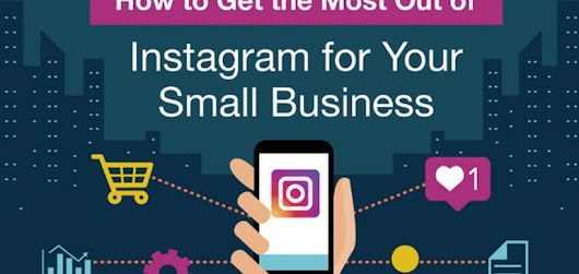 A Beginners Guide to Instagram Marketing for Small Businesses [Infographic]
