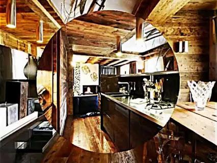 Möbel halbrund Wohnregal schwarz weiß
