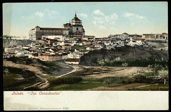 Hospital Tavera a comienzos del siglo XX. Postal de Purger