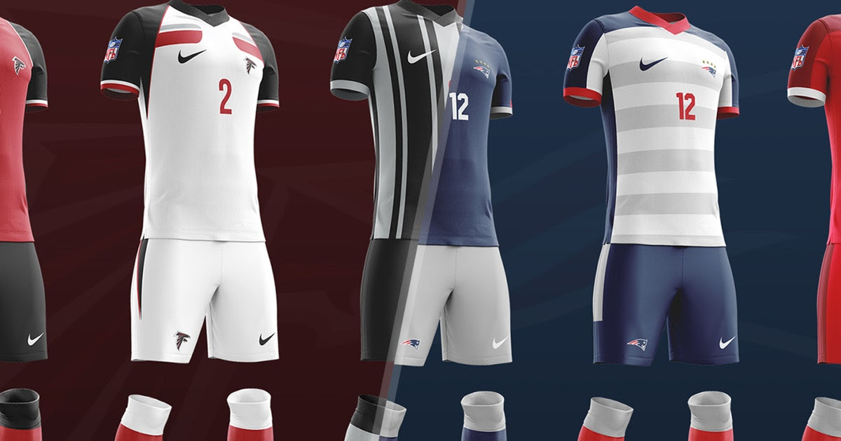 What would every NFL team look like with a soccer kit?  FOX Sports