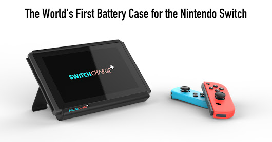 SwitchCharge - A Battery Case For Nintendo Switch