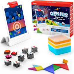 Osmo Genius Starter Kit for iPad (New Version) Ages 6-10